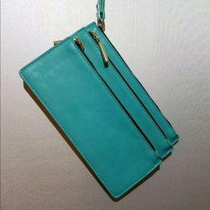 Urban Outfitters Teal clutch NWOT
